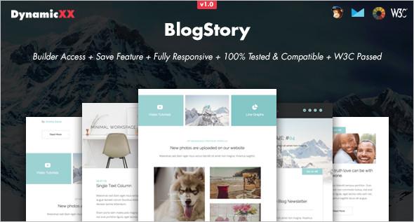 Online Blog Website Template