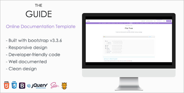 Online Documentation Template