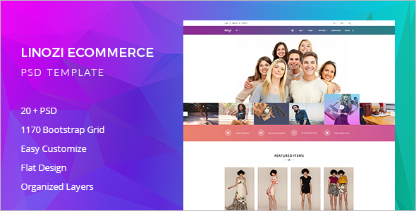 Online E-commerce Website Template