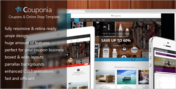 Online Shopping Website Template