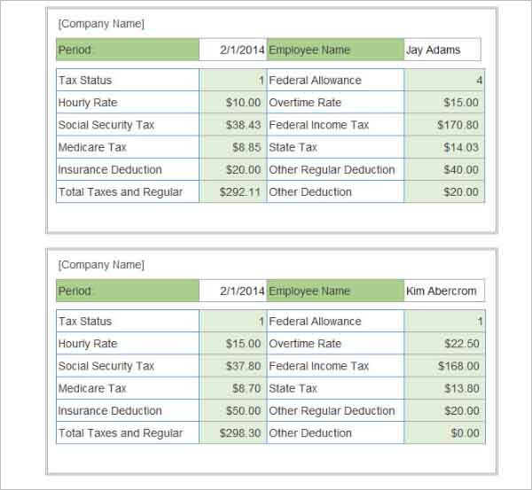 tax from paycheck calculator