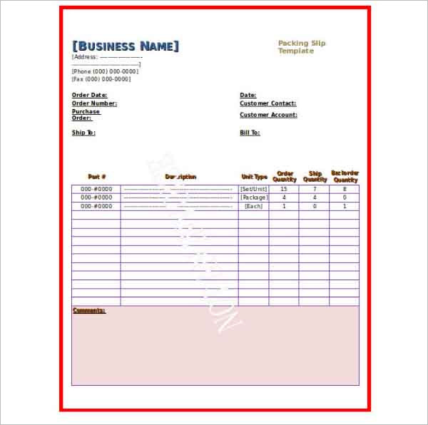 Paystub Packing Pay Slip Template Word Download