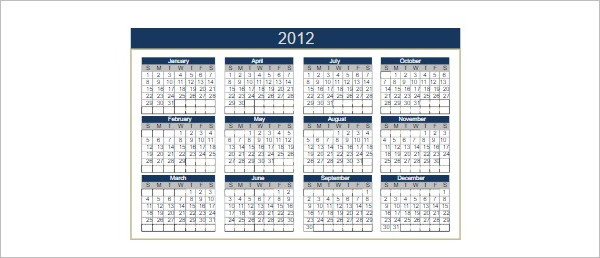 Free Printable Calendar Templates Word Pdf Excel Formats