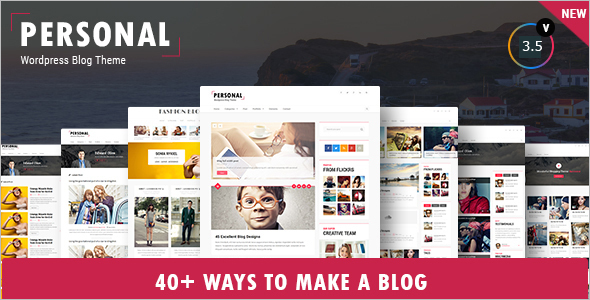 Personal Video WordPress Template