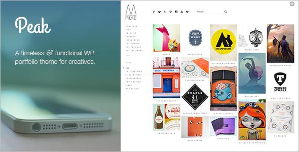 Popular Portfolio WordPress Templates