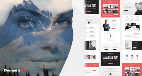 Portfolio Online Website Template