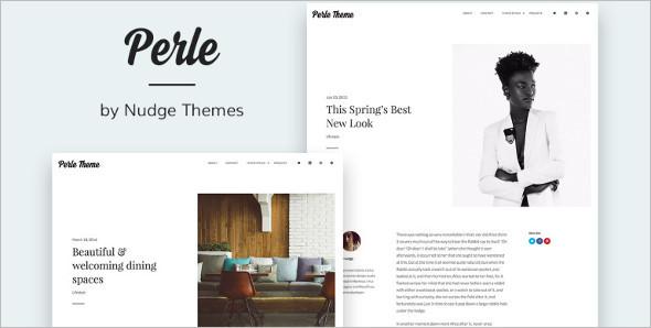 Portfolio Photo Blog WordPress Template