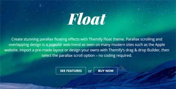 Premium Animated WordPress Template