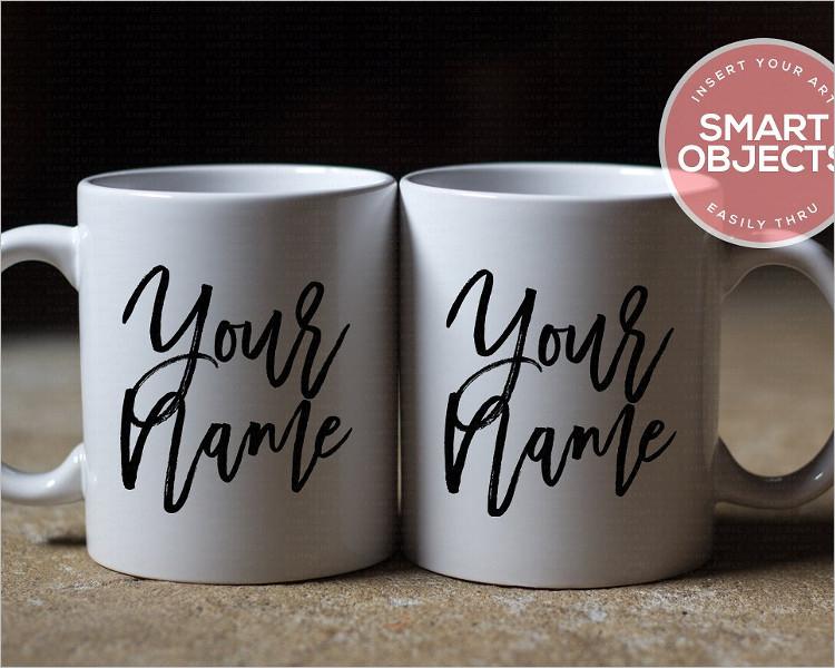 Premium Coffie Mug Mock-up