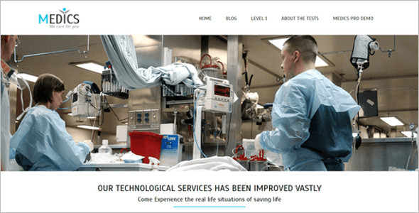 Premium Medical WordPress Template