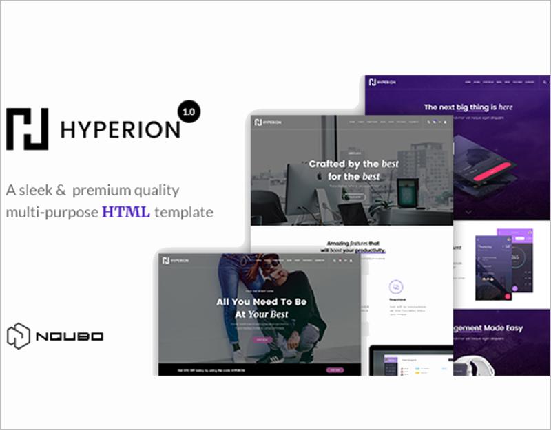 Premium Multipurpose HTML Template