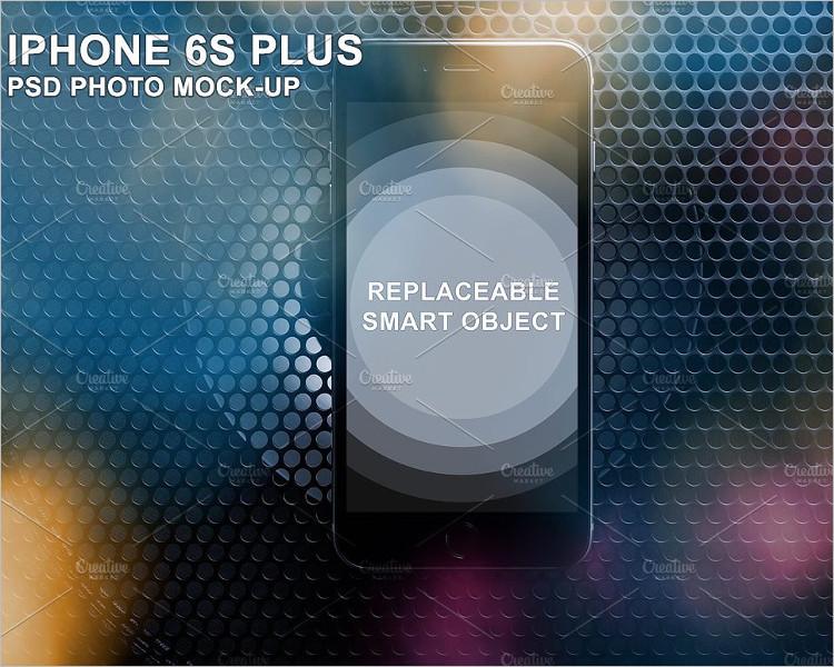 Premium iPhone 6s Plus Phone Mockup