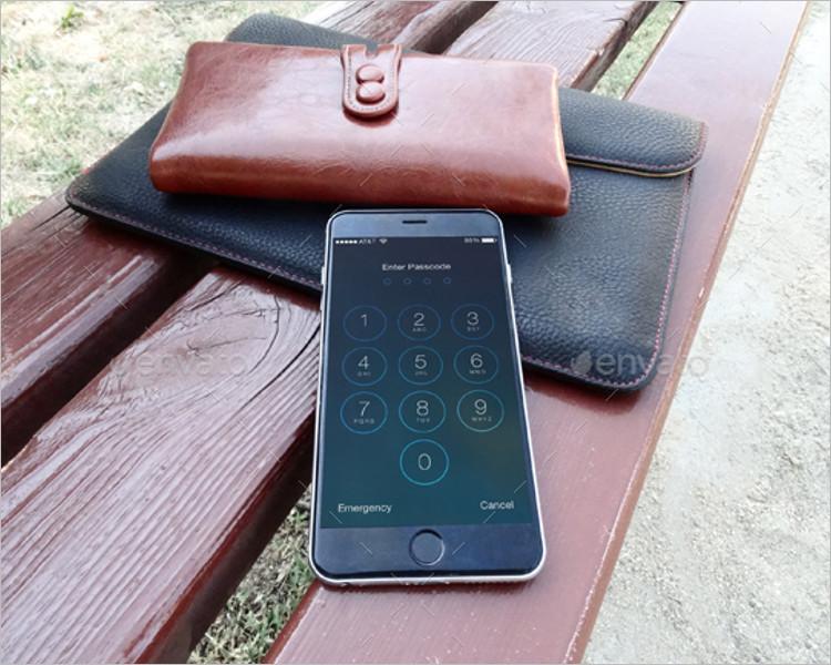 Premium iphone 6s Plus Mockup