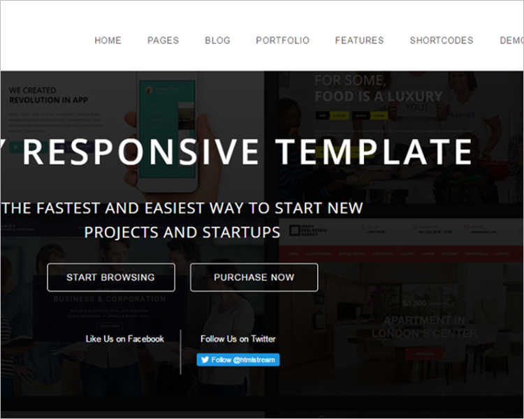 Professional Bootstrap Website Template