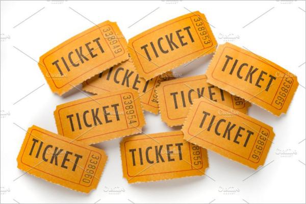 Raffle Ticket Sample Template
