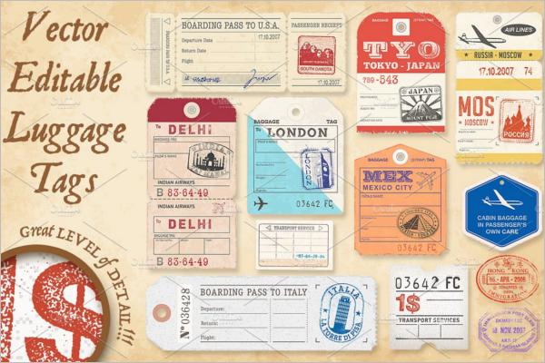 Raffle Ticket Vector Design