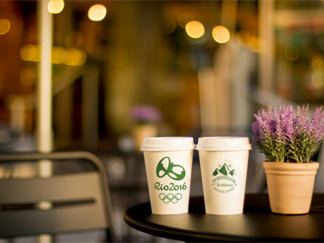 Realistic Coffe Cup Photo Mockup