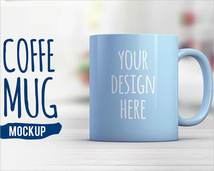 Realistic Coffee Mug Mock-up