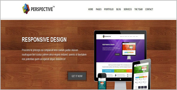 Responsive HTML Grid Layout Template