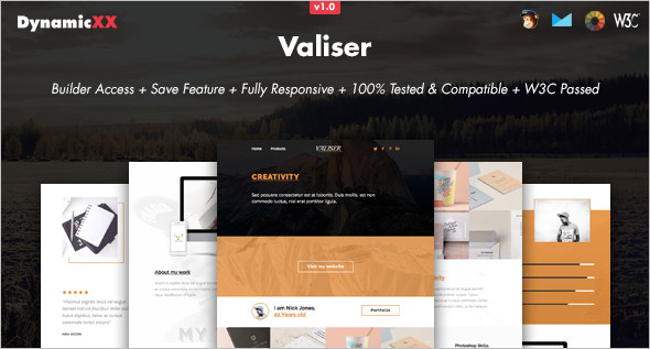 Responsive Online Website Template