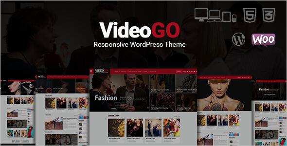 Responsive Video WordPress Template