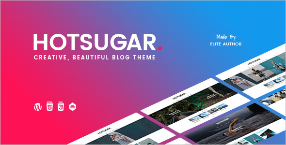 Responsive WordPress Blog Template