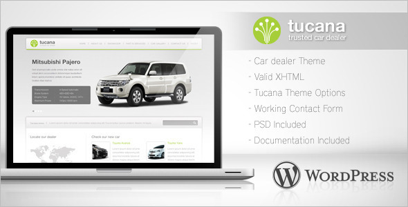 Retail Car Dealer WordPress Template