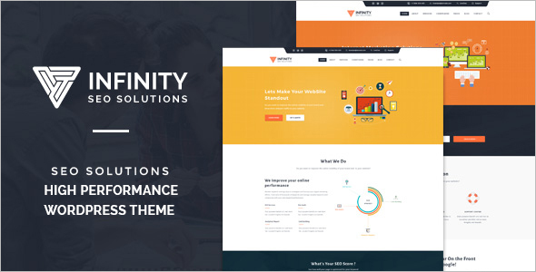 SEO Automotive WordPress Template