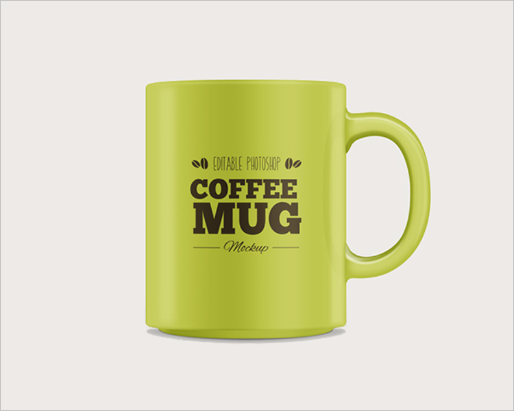 Sample Coffee Mug Mockup