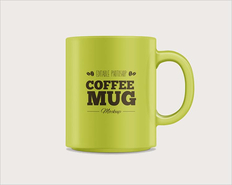 Sample Coffee Mug Mockup