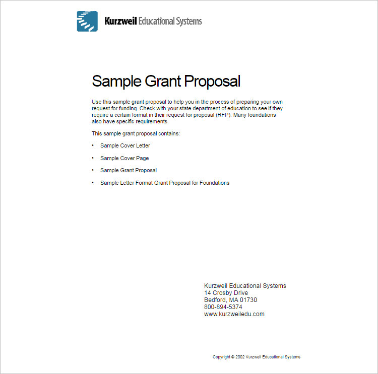 2 Sample Proposal Letter Template Form ...  Proposal Letter Outline