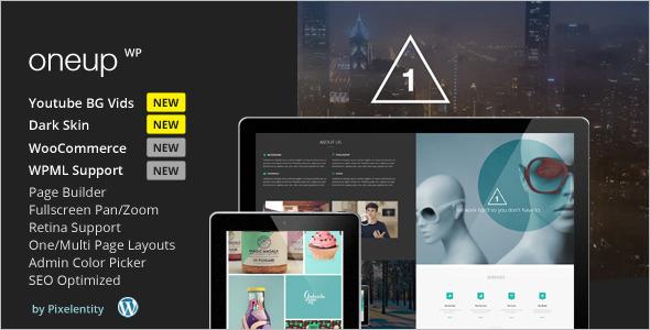 Sample WordPress Platform template