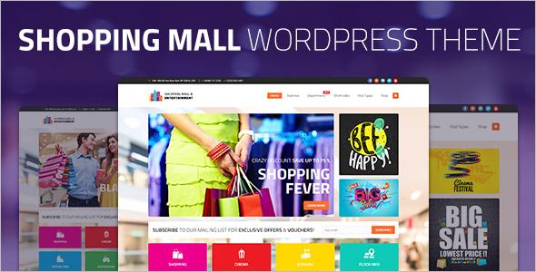 Shopping WordPress Platform template