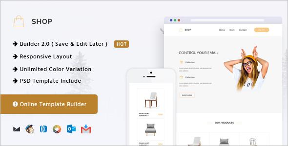 Simple Online Website Template