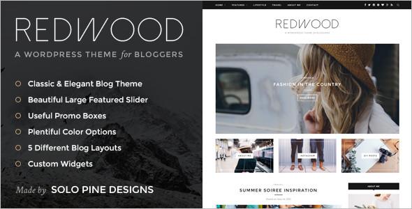 Simple WordPress Bog Template