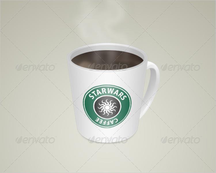 Smart Coffee Mug Mockup