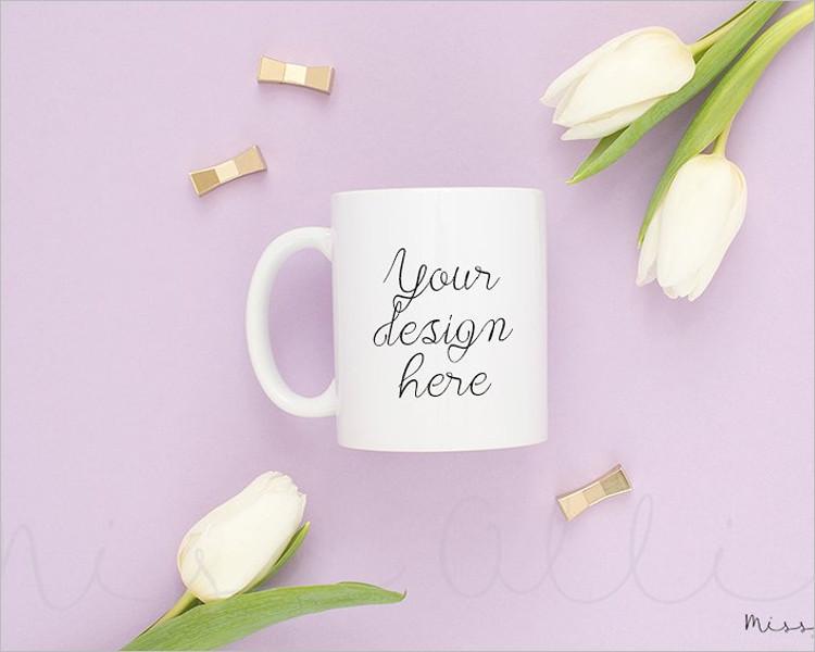 Stylish Coffee Mug Mock-up