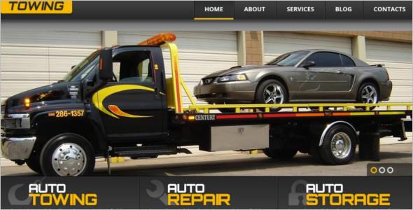 Successful Car WordPress Template