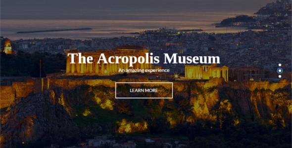 Travel Website WordPress Template