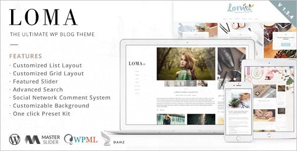 Ultimate WordPress Blog Template
