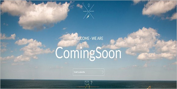 Video Landing Page Background Theme