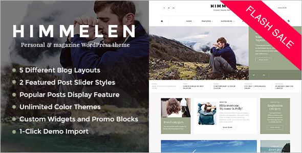 Video WordPress Blog Template