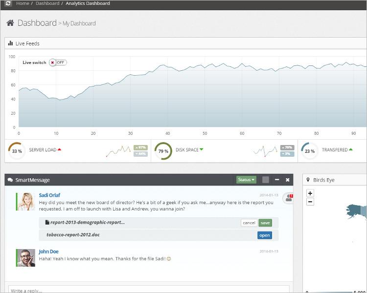 Web App Bootstrap Website Template