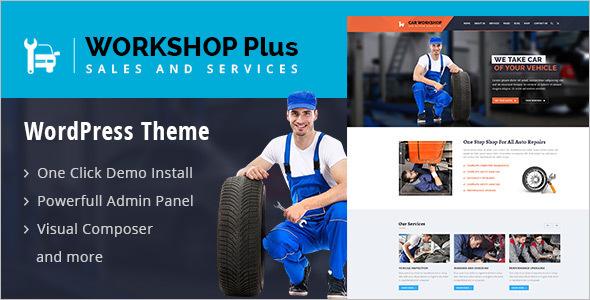 WordKshop WordPress Template