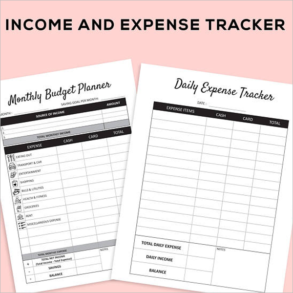 Yearly Budget Planner Template