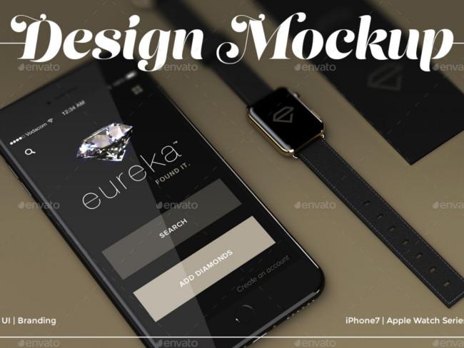 accessories mockup