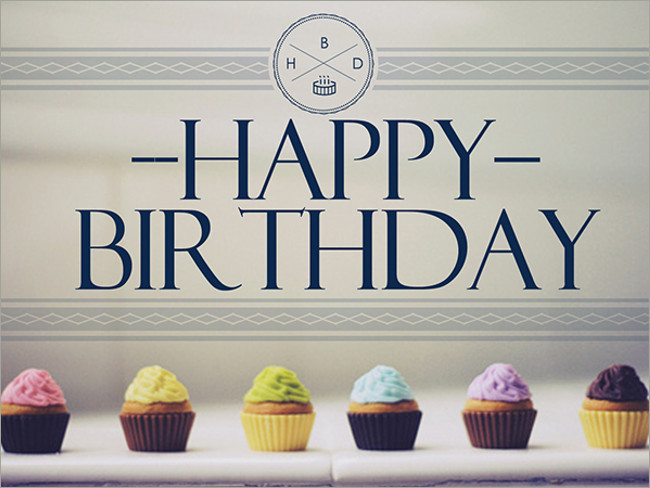 behance birth day wall paper