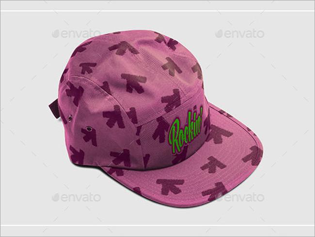 cap branding mockup
