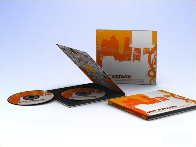 cd case disk mockup