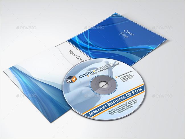 cd cover design mockup